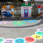 Tarmac Games & Painted Buildings